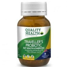 Load image into Gallery viewer, Quality Health Travellers Probiotic 30 Capsules