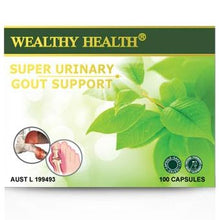 Load image into Gallery viewer, Wealthy Health Super Urinary Gout Support 100 Capsules