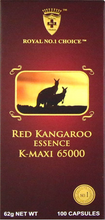 Load image into Gallery viewer, Wealthy Health Red Kangaroo Essence K-Maxi 65000 100 Capsules