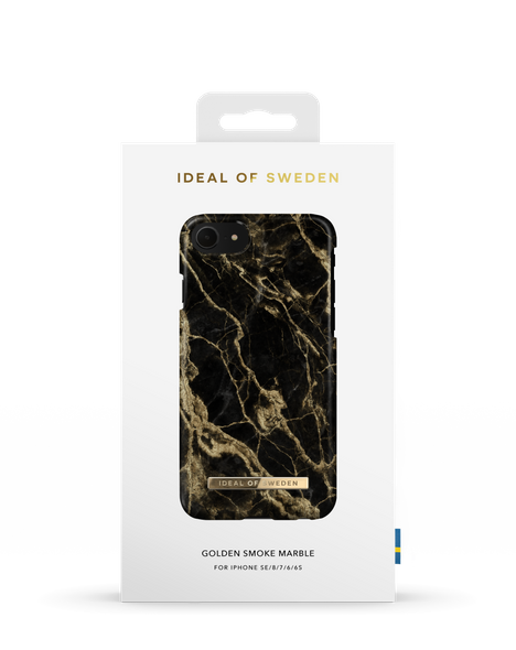 iDeal of Sweden Golden Smoke Marble for iPhone 8/7/6/6s/SE
