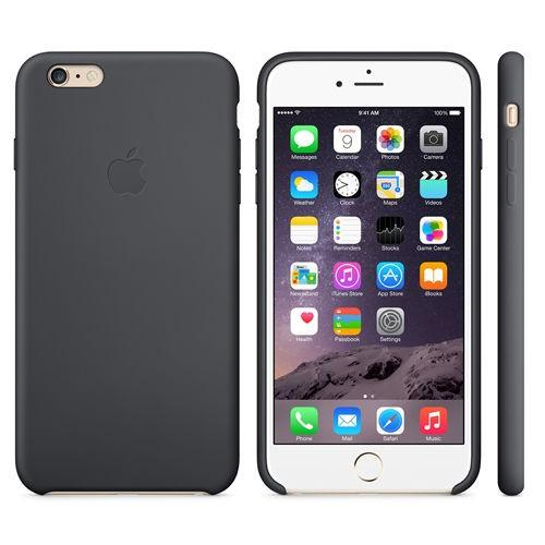 Apple iPhone 6S Plus Silikon Deksel (Sort)