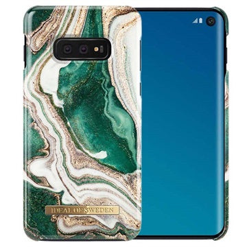 iDeal of Sweden Golden Jade Marble for Galaxy S10e