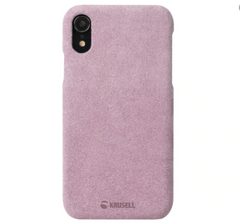 Krusell Broby Deksel for iPhone XR (Rosa)