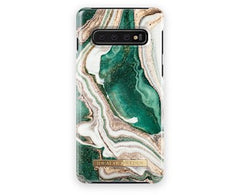 iDeal of Sweden Golden Jade Marble for Galaxy S10