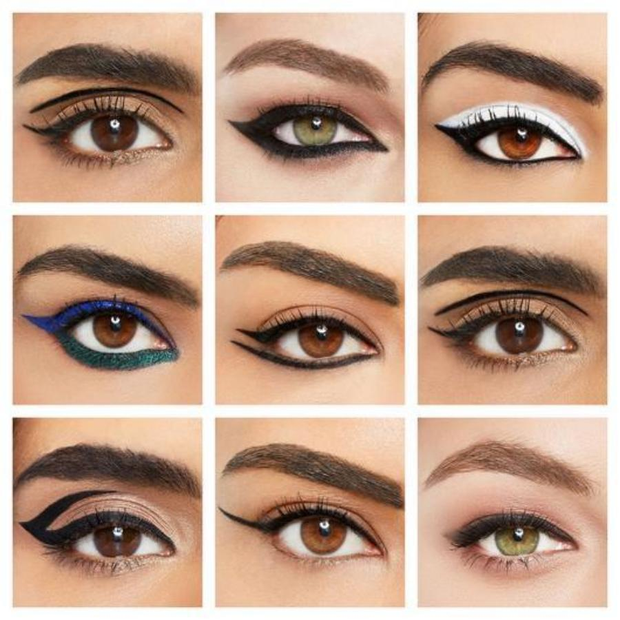 2019 Eyeliner Stencil Kit (10pcs) - Beautiful Made Easy
