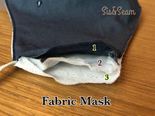 Load image into Gallery viewer, Original Collection - Fabric Face Mask (US Stock)