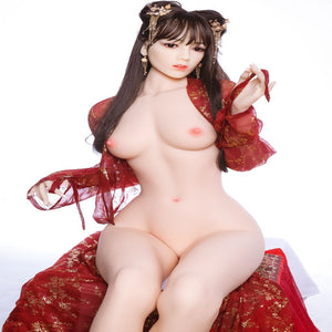 Beautiful Japanese girl with soft skin, long black straight hair, dark eyes and perfect measurements. Real life size sillicone doll Unique height of 176cm