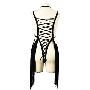 HARNESS DRESS FETISH