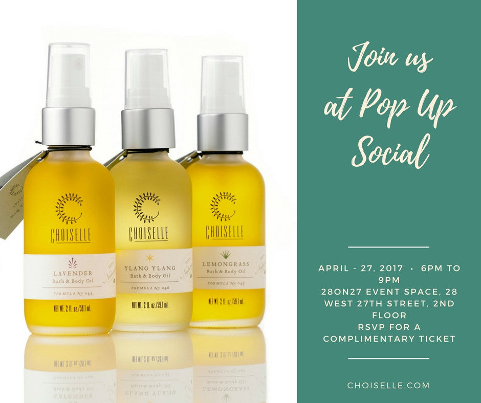 CHOISELLE + POP UP SOCIAL