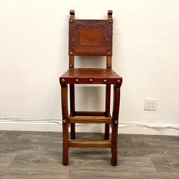 Colonial Barstool Botanical Edition | Via Romani