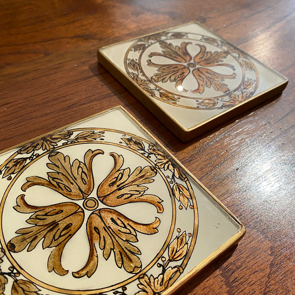 Isabel Coaster Set (2) | Via Romani