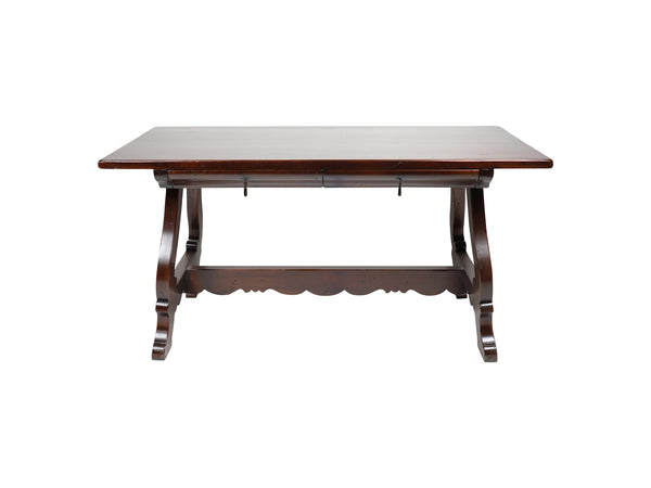via Romani Spanish Revival style wooden writing desk
