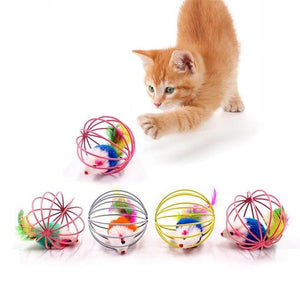Cat Toy - Bell Mouse Cat Interactive Toy