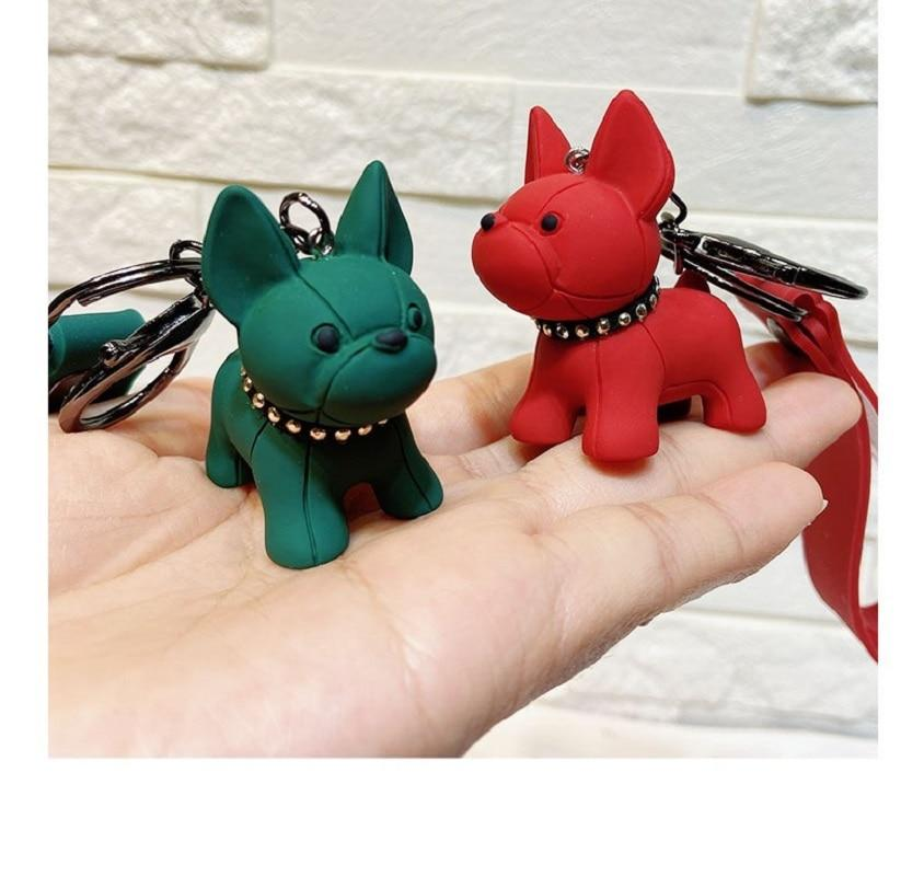 Dog Charm - French Bulldog Keychain Charm - FREE!