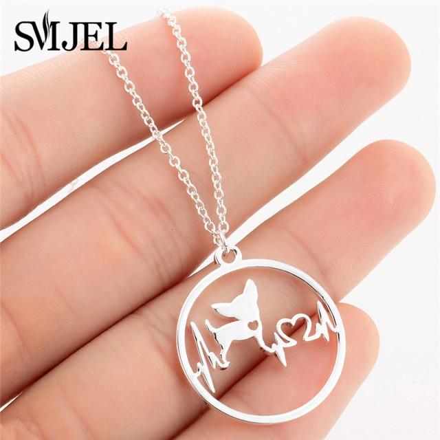 Dog Love Necklace - Stainless Steel Dog Necklace - FREE!