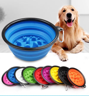 Pet Bowl - Collapsible Travel Pet Feed Bowl