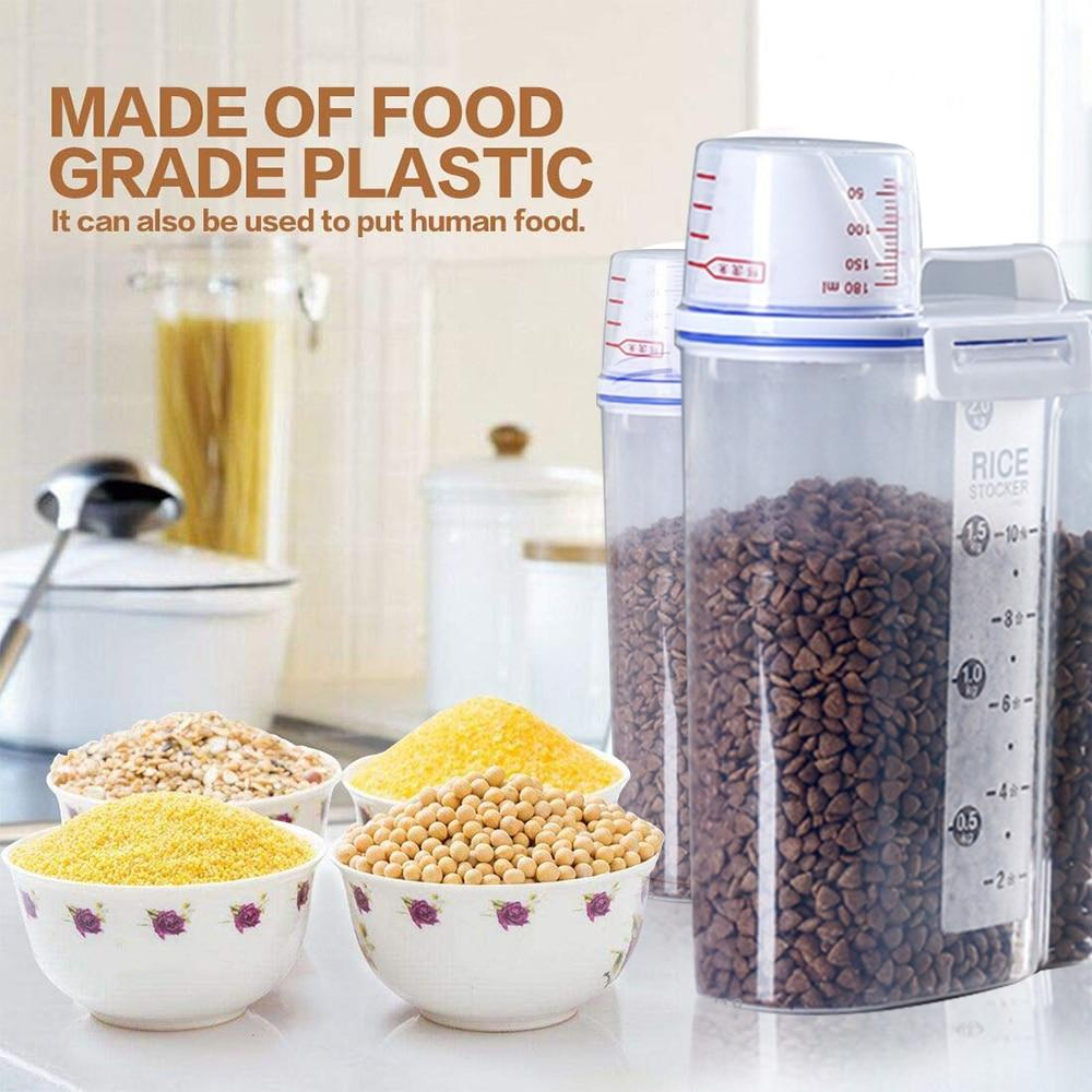 Pet Tags - Portable Pets Food Storage Container