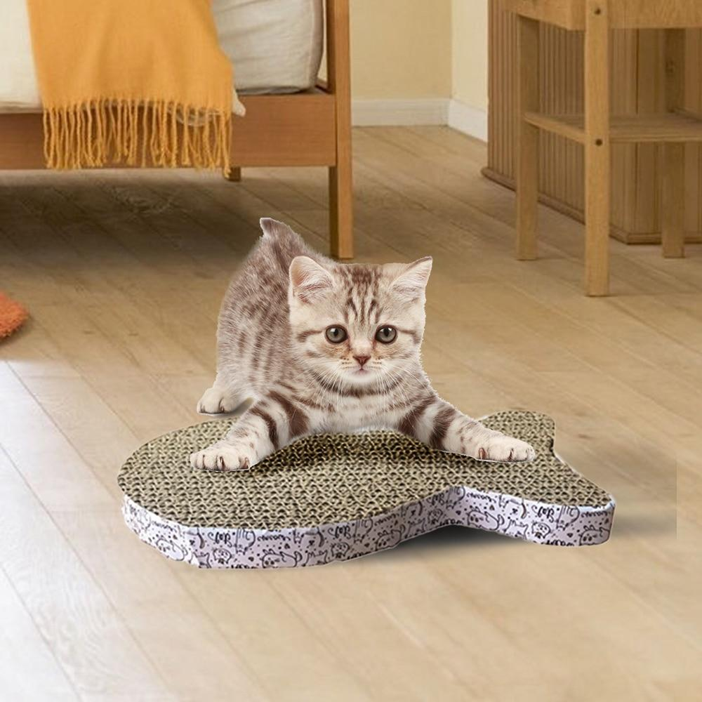 Pet Toys - Cat / Kittens Corrugated Scratch Pad