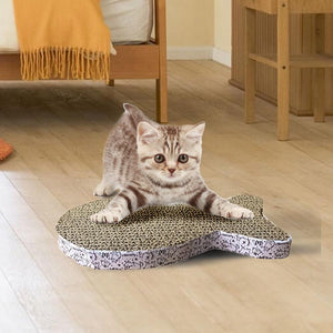 Pet Toys - Cat / Kittens Corrugated Scratch Pad - FREE!