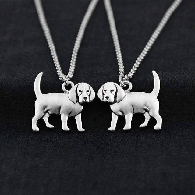 Pup Necklace - Antique Silver Pup Necklace - FREE!