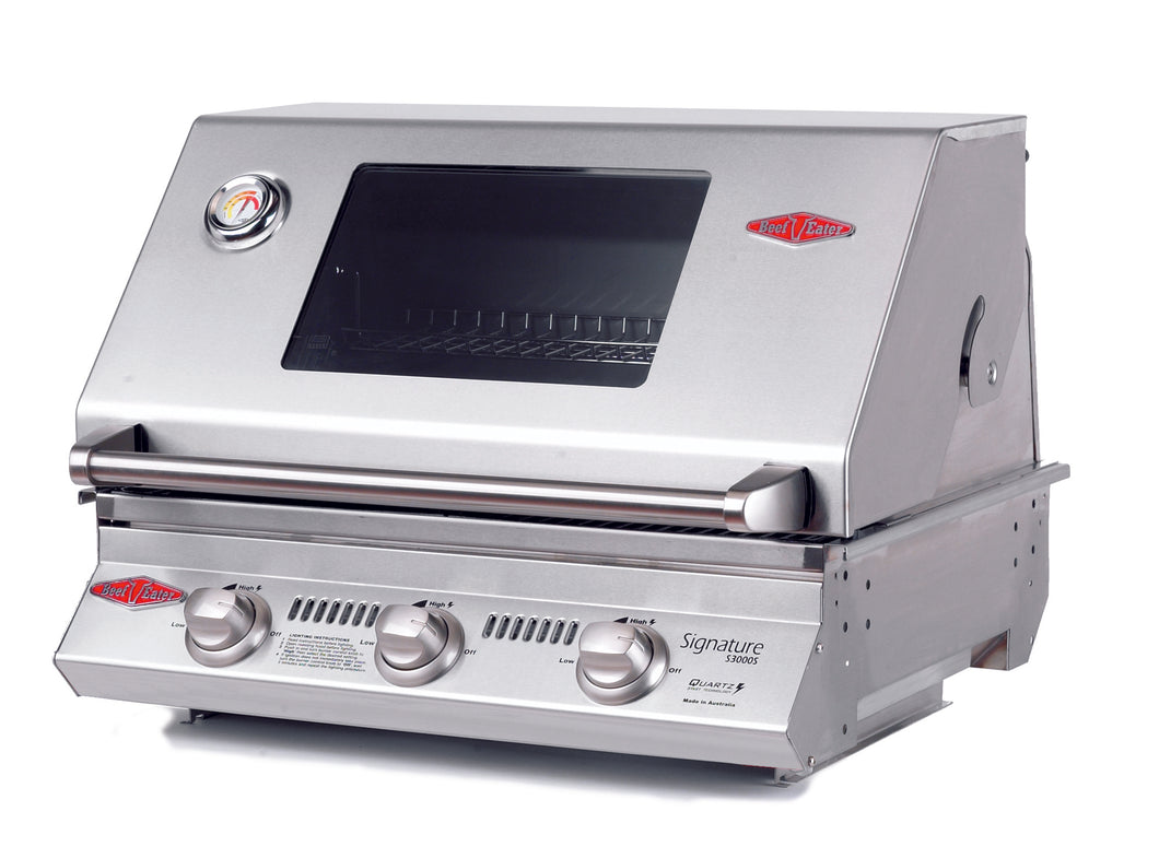 3000S Series - 3 Burner BBQ Only Cast Iron Pack