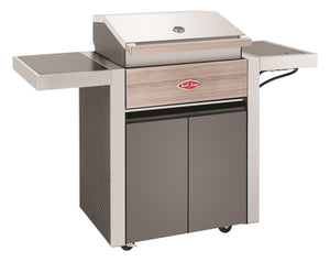 1500 Series - 3 Burner BBQ with Trolley