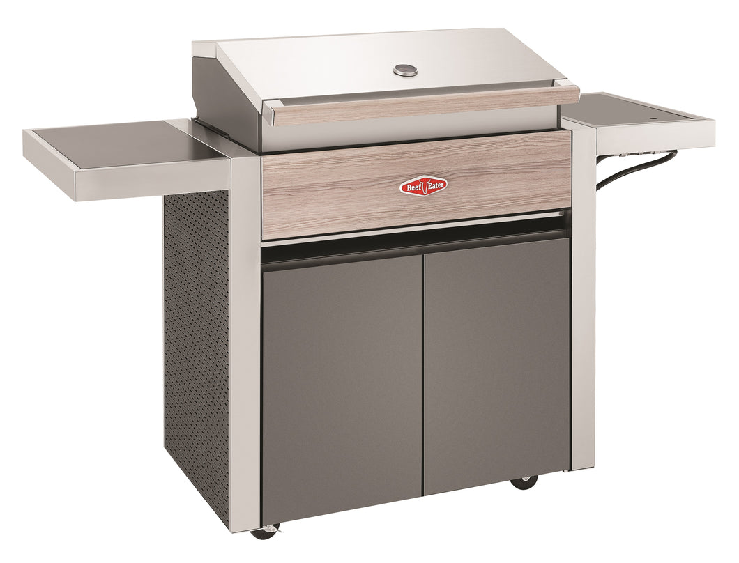 1500 Series - 4 Burner BBQ with Trolley