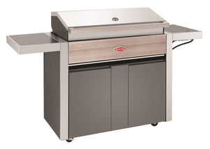 1500 Series - 5 Burner BBQ with Trolley