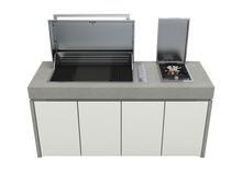 Load image into Gallery viewer, Harmony Outdoor Kitchen - 5 Burner Proline Series BBQ with Pack Modules and Worktop