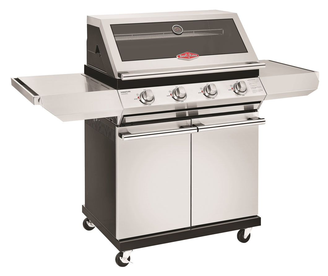 2000S Series - 4 Burner BBQ with Trolley