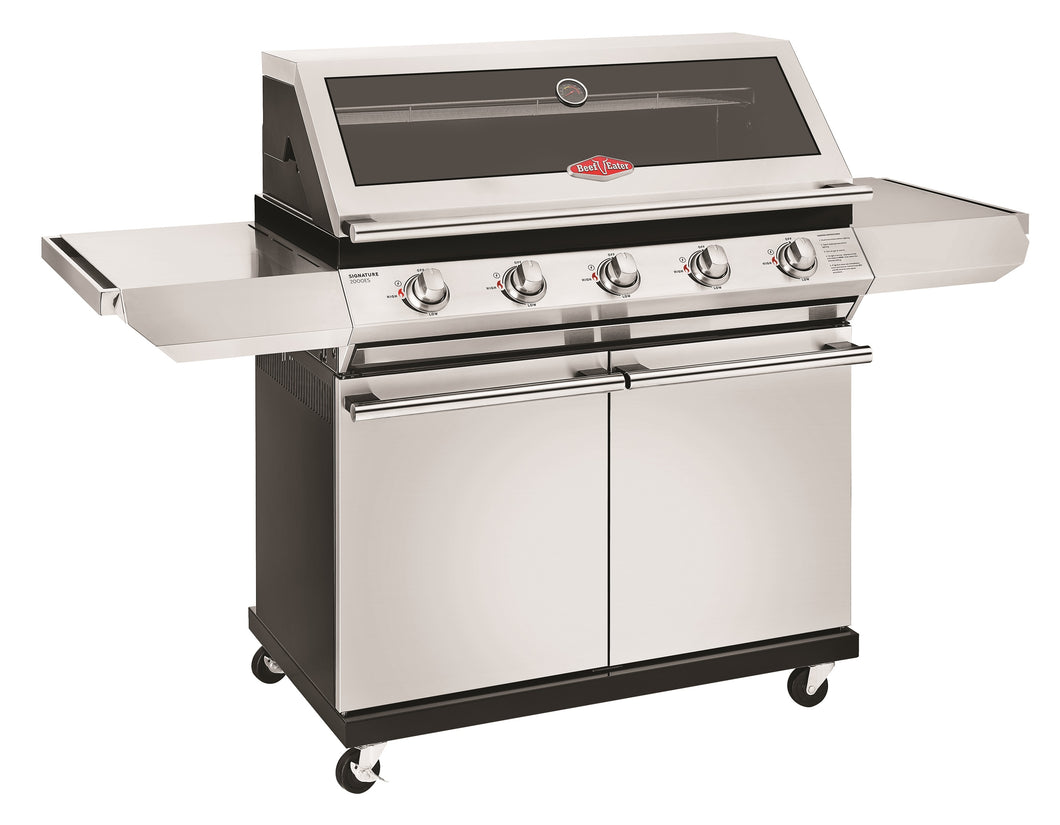 2000S Series - 5 Burner BBQ with Trolley