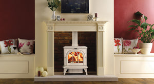 Stovax Huntingdon 30 in Ivory Enamel