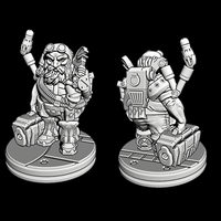 Space Dwarf Mechanic