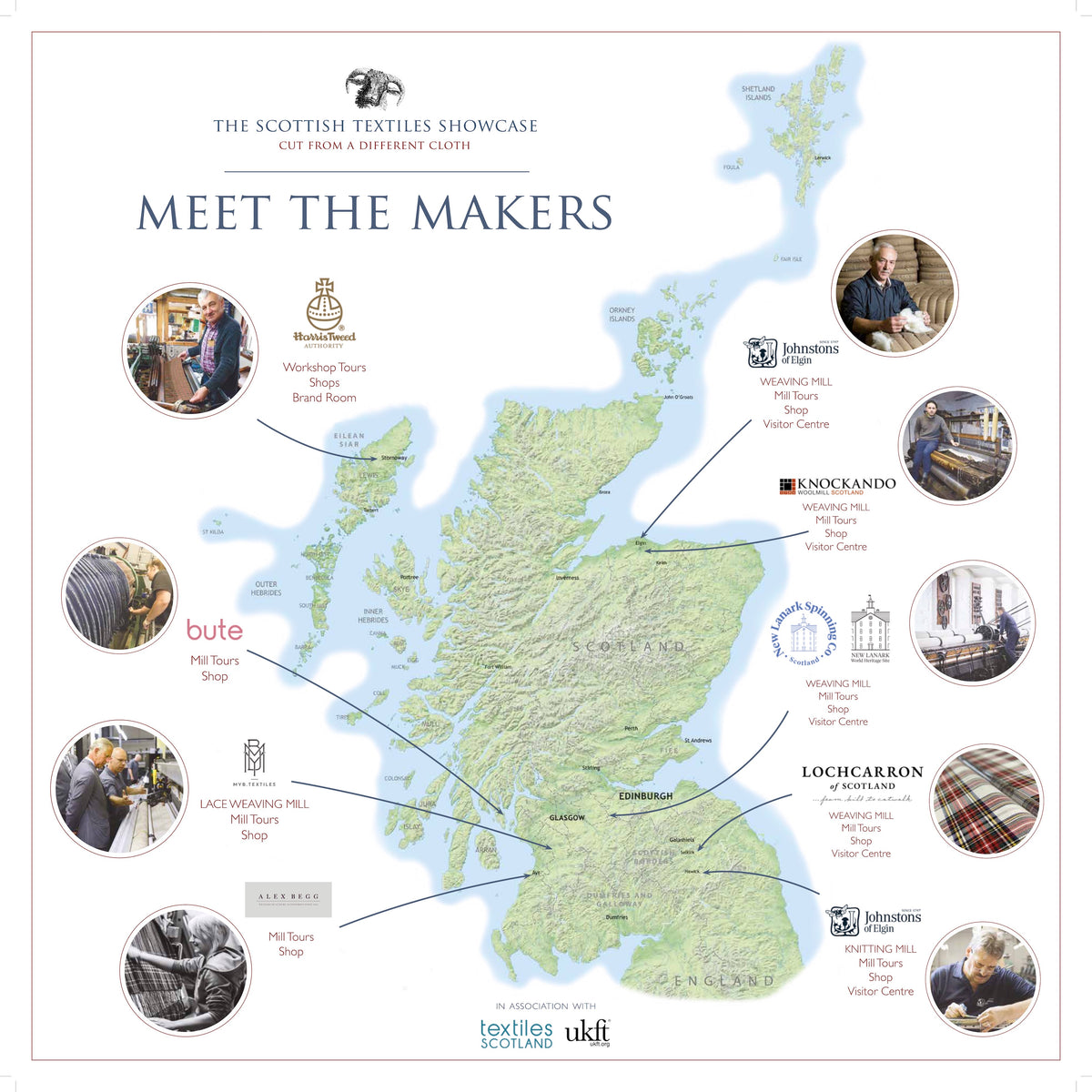 Meet the Makers, Scottish Textiles Tours