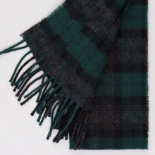 Load image into Gallery viewer, Black Watch Tartan Scarf