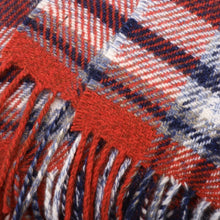 Load image into Gallery viewer, Super Cashmere Throw Red Plaid
