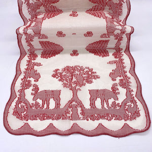 Christmas Lace Coaster