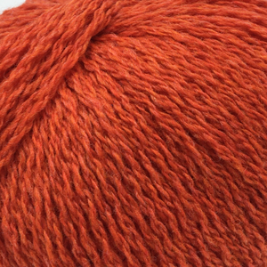Scottish knitting wool in Orange