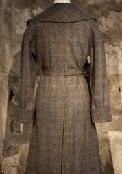 Cora coat in Harris Tweed by Elizabeth Martin