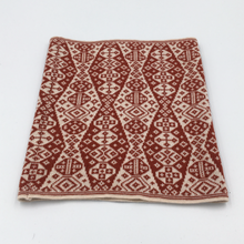 Load image into Gallery viewer, Lozenge design shetland cowl