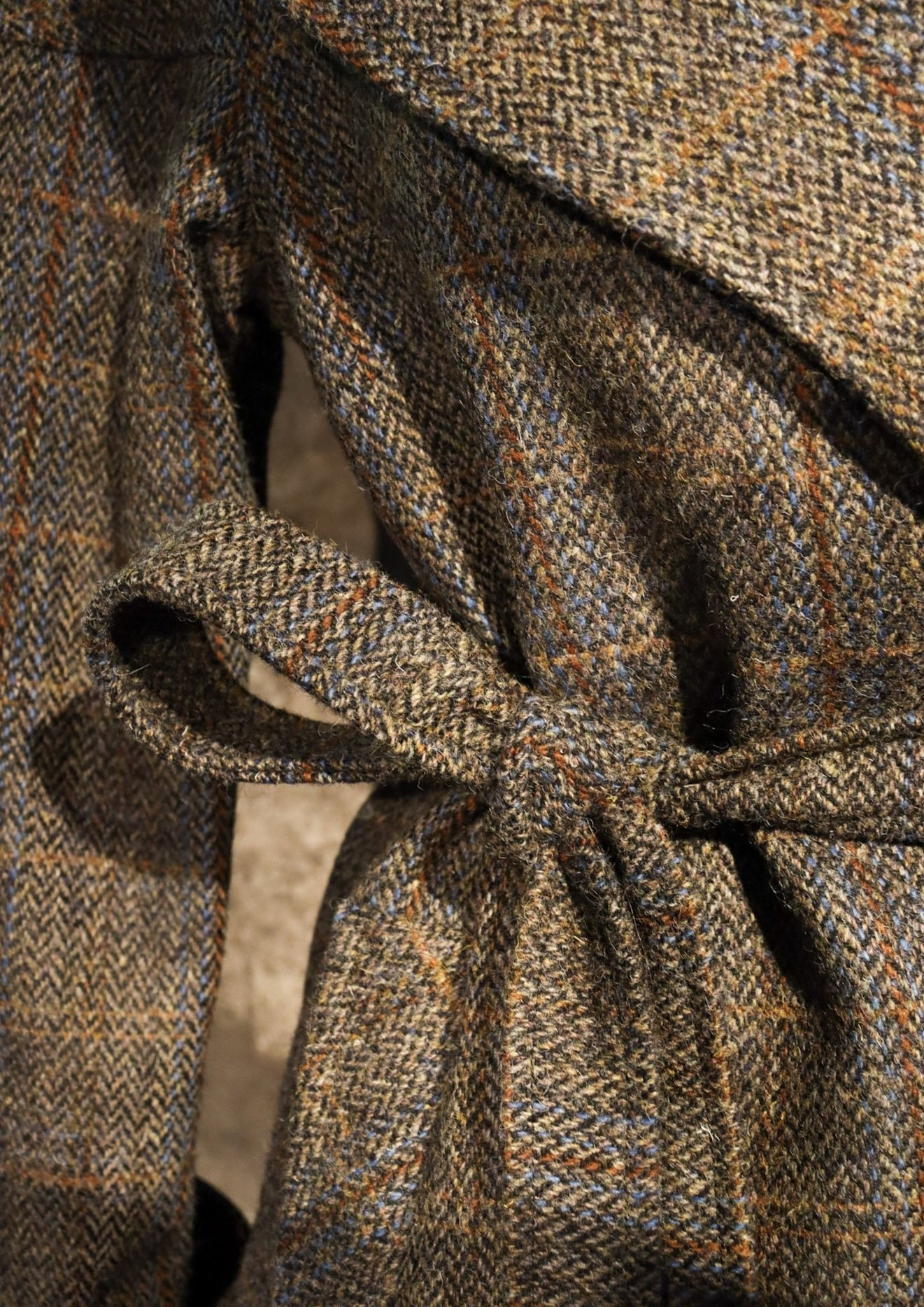 Cora Coat Harris Tweed