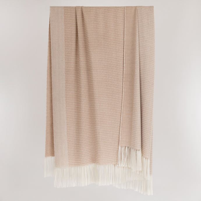 Pure British Alpaca luxury throw