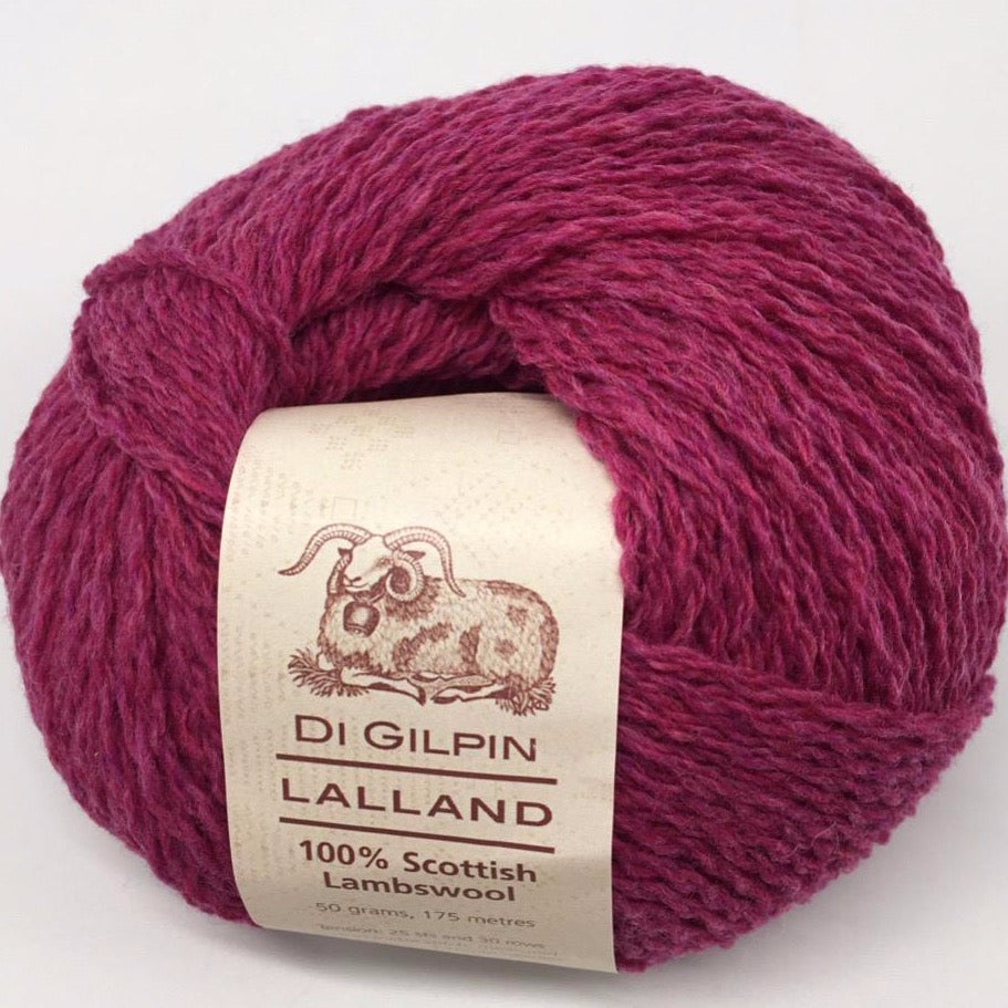 Scottish Knitting wool, bell heather