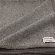 Load image into Gallery viewer, grey cashmere throw