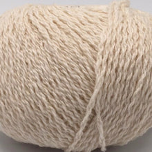 Load image into Gallery viewer, Scottish knitting wool in Crowide cream colour.