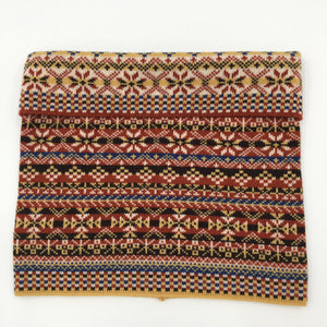 Fair Isle luxury merino Infinity Scarf