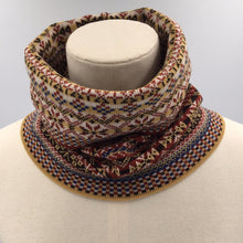 Load image into Gallery viewer, Fair Isle Heritage Infinity Scarf