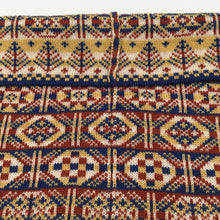 Load image into Gallery viewer, Fair Isle geometric patterned luxury cowl