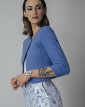Load image into Gallery viewer, Harris Tweed Ella Jacket Sky Blue