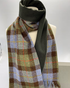 Macleod Harris Tweed with green cashmere